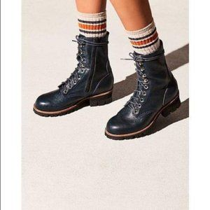 Jeffrey Campbell/ Free People Lucca Combat Boot- 8